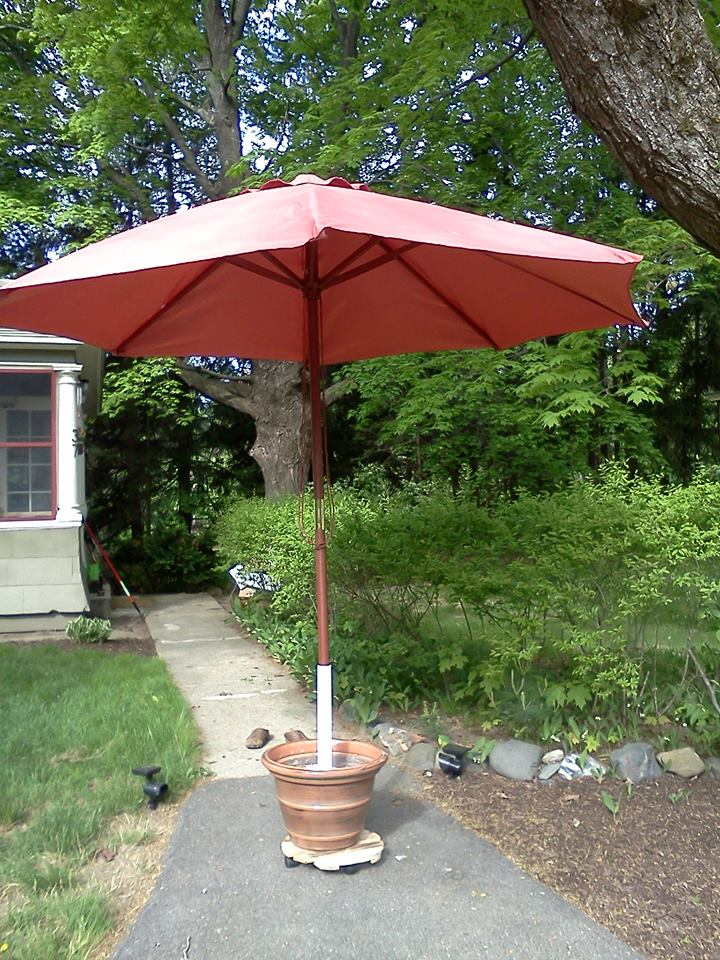 Outdoor Umbrella Stand Base Heathermaeshampine It